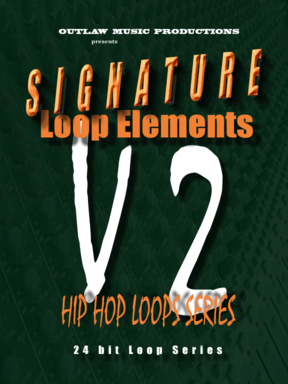 Product picture Hip Hop Loops and Drum Loops:SIGNATURE LOOP ELEMENTS-Volume 2-Hip Hop Song Construction Loops